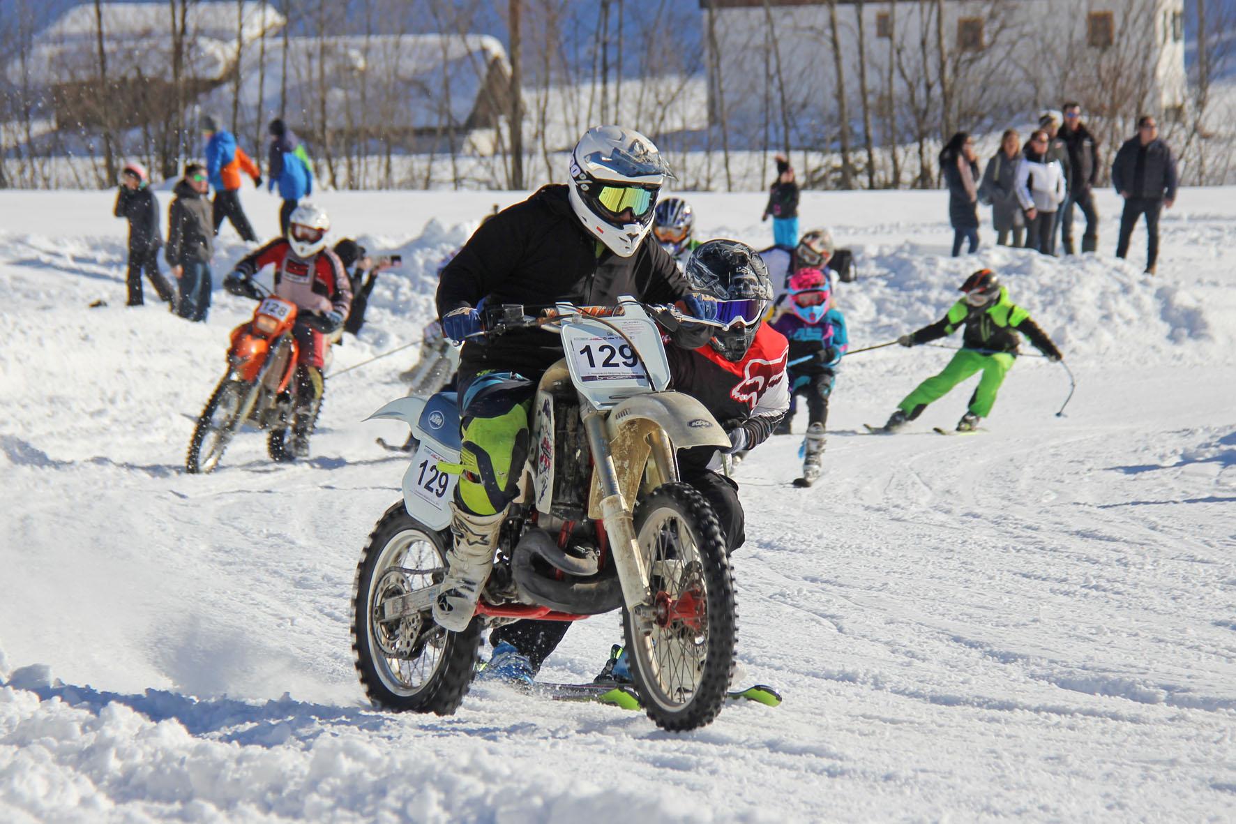 Holzknecht Skijöring Gosau _ Irlacher Felix und Eder Christian _ Bild Karl Posch _ LR