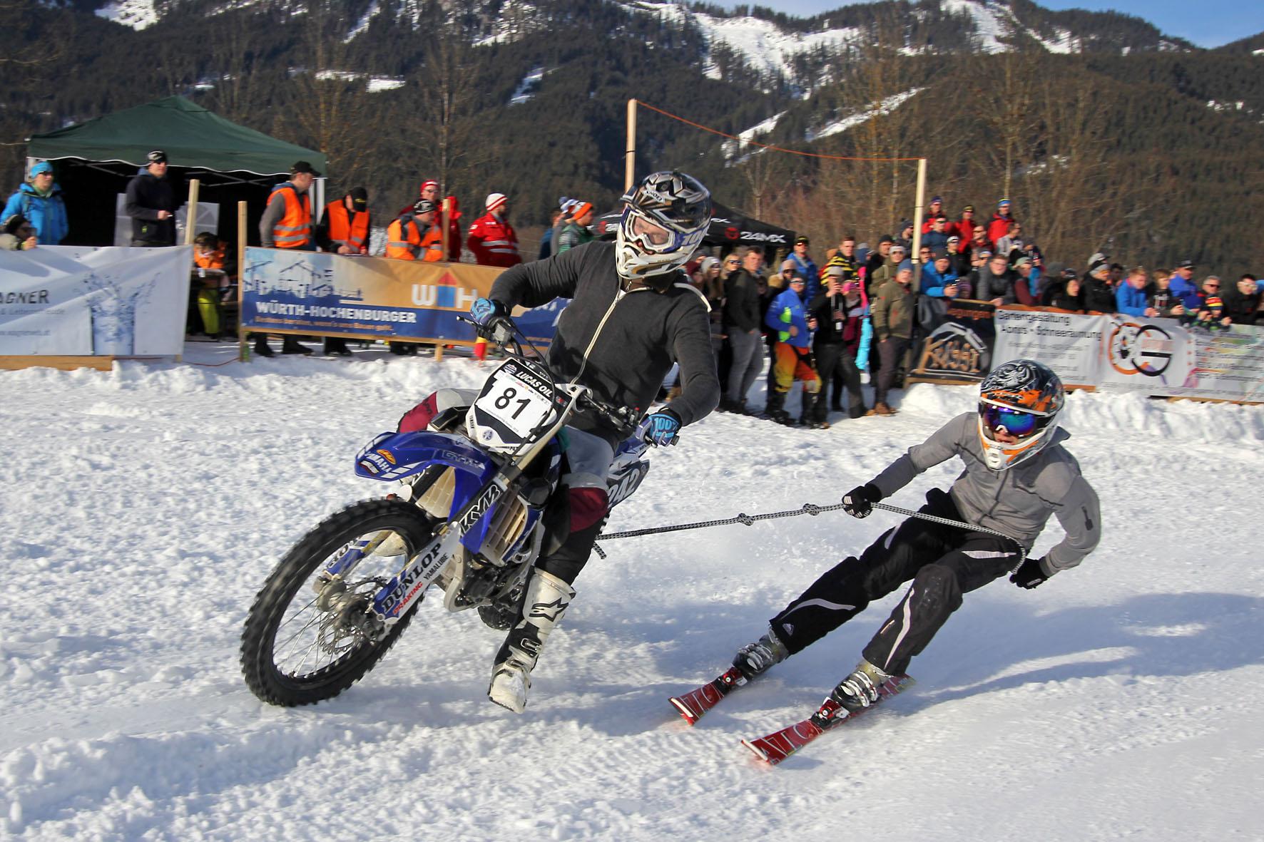 Holzknecht Skijöring Gosau _ Putz Alexander und Lienbacher Mike _ Bild Karl Posch _ LR