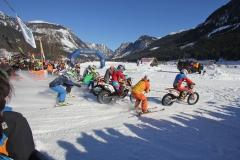 Holzknecht Skijöring Gosau _ Am Start 1 _ Bild Karl Posch _ LR