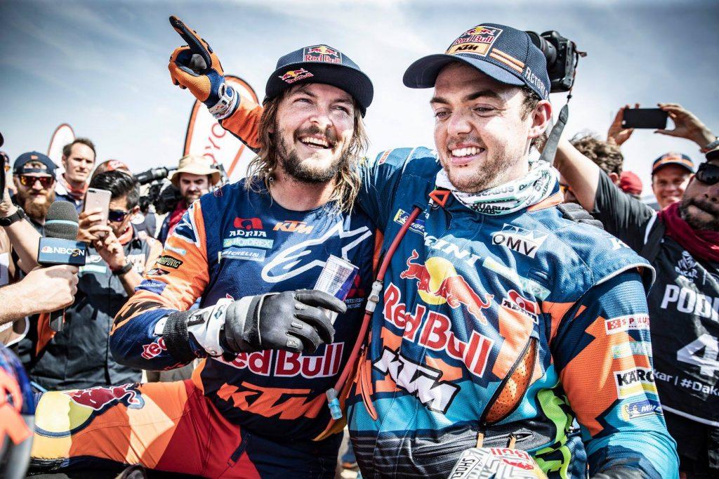 Dakar 2019 | Toby Price und Matthias Walkner im Ziel